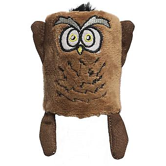 Ica Owl Tube (Cats , Toys , Plush & Feather Toys)