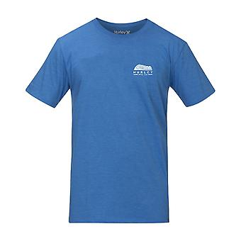 Hurley Men's Heather T-Shirt ~ Siro Daybreak blue heather