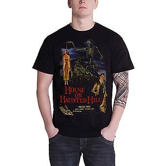 Plan 9 House On Haunted Hill Poster Official Mens New Black T Shirt