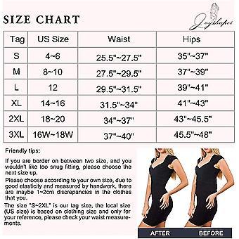 Tummy Control Shapewear Shorts Women High Waist Body Shaper Thigh Slimmer Sli...