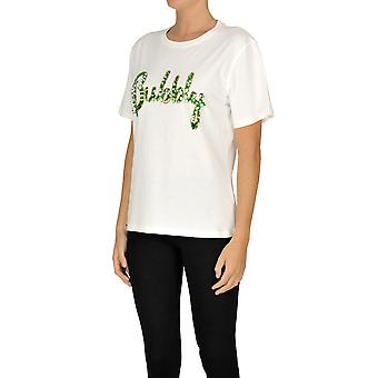 Sweet Matilda Ezgl314027 Women's White Cotton T-shirt