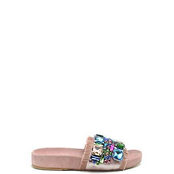 Fiorina Ezbc425002 Women's Pink Suede Sandals