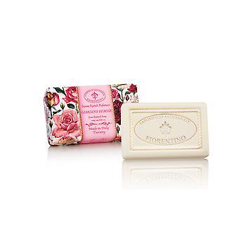 Saponificio Artigianale Fiorentino Handmade Soap - Rose Garden - Lovingly Wrapped in Wrapping Paper 250g