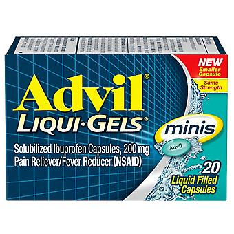 Minis de Advil liqui-gel, ea 20
