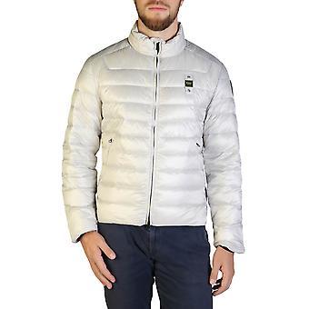Blauer Original Men Fall/Winter Jacket - Grey Color 35710