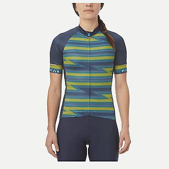 Giro Women's Chrono Expert Short Sleeve Jersey 2020: Black Blur Xs
