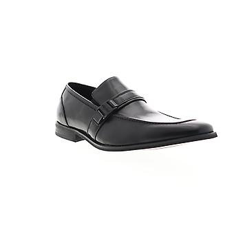 Unlisted by Kenneth Cole MU Stash  Mens Black Dress Loafers Shoes