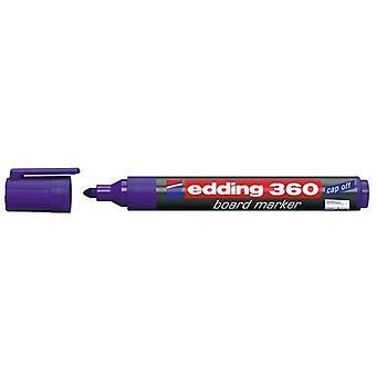 edding-360 marcador de quadro violeta 10PC 1,5-3 mm / 4-360008