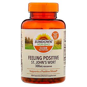 Sundown naturals st. Janskruid, 300 mg, capsules, 150 ea