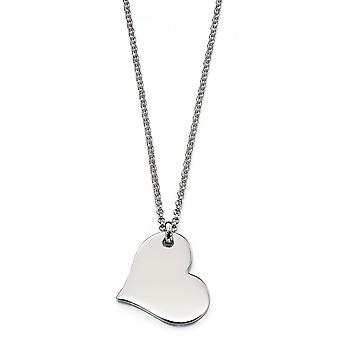Little Star Nina Silver Heart Dames Ketting