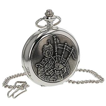 Boxx Piper Pocket Watch on 12 Inch Chain Boxx406