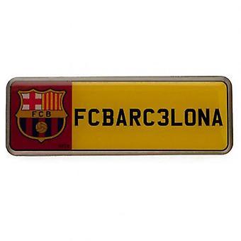 Barcelona-Nr. Platte Abzeichen