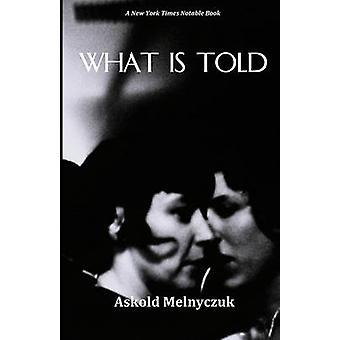 What Is Told by Melnyczuk & Askold