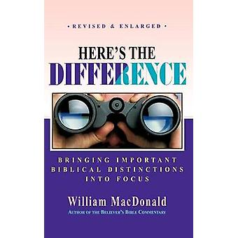 Heres the Difference by MacDonald & William