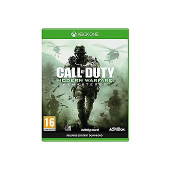 Call of Duty Call Of Duty Modern Warfare Remastered Xbox One