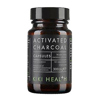 Kiki Health Activated Charcoal Vegicaps 50