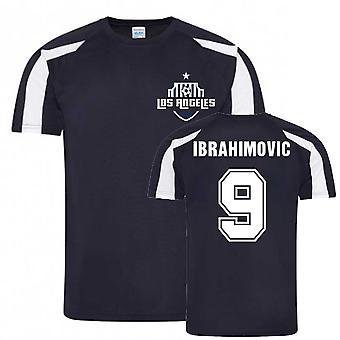 Zlatan Ibrahimovic Los Angeles Sport Utbildning Jersey (Marinblå)
