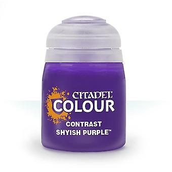 Contrast: Shyish Purple (18ml), Citadel Paint Contrast, Warhammer 40,000