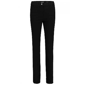 Olsen Mona Slim Leg Jeans Black