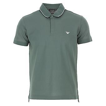 EA7 Emporio Armani Ea7 | Emporio Armani 211804 0p461 Mini Logo Jersey Polo T-shirt