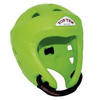 Topp tio Avantgarde Head Guard Neon grön