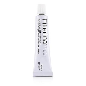 Fillerina Eye & Lip Contour Cream - Grade 4 Plus - 15ml/0.5oz
