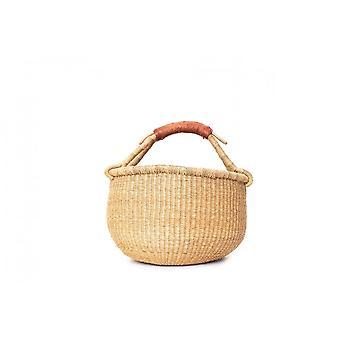 Cosy Coco Bolga Market Basket | Natural Tan