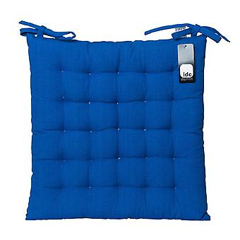 Cotton Chair Pad 40x40cm Blue