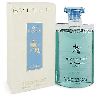 Bvlgari EAU Parfumee au o gel de banho Bleu por Bvlgari 6,8 oz gel de banho