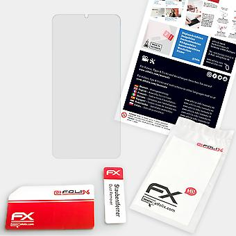 atFoliX 3x Screen Protector yhteensopiva Oppo F15 Näytönsuojakalvo selkeä