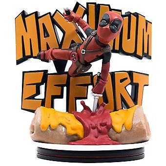 Deadpool Maximum Effort Q-Fig Diorama