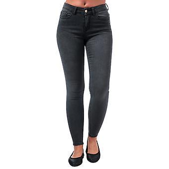 Women's Only Lanne K Mid Skinny Jeans in Black