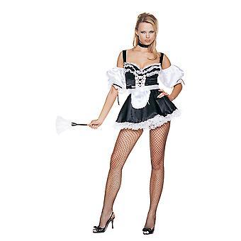 Women Sexy French Maid Costume
