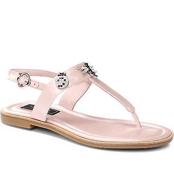 Staccato Femmes Embellie Toe Post Sandale