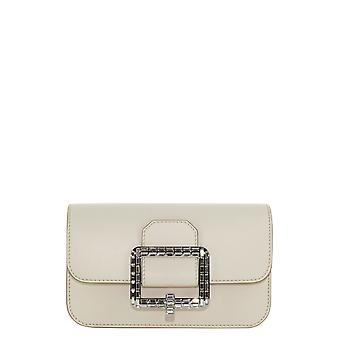 Bally 6236188 Women's White Leather Pouch