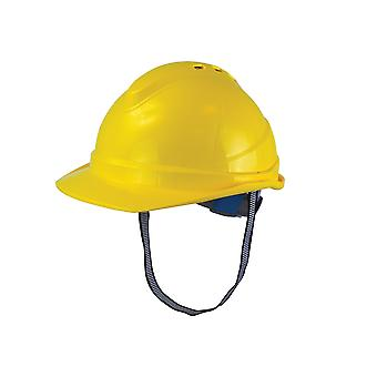 Escanear Casco de Seguridad Deluxe Amarillo SCAPPESHDELY