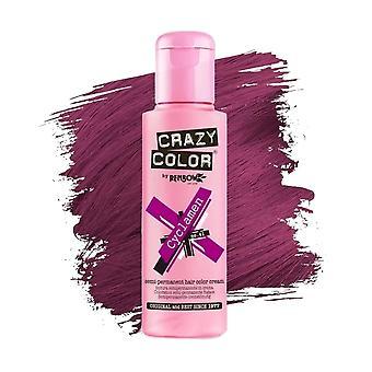 Crazy Color Semi Permanent Hair Colour Cream - Cyclamen