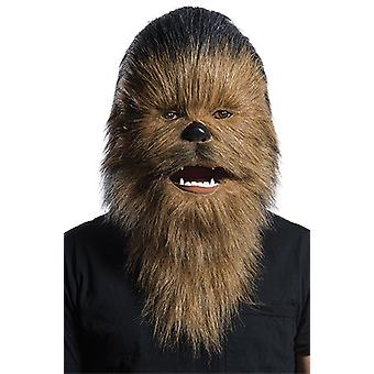 Chewbacca Moving Mouth Mask - Adult STAR WARS Maske Erwachsene Karneval