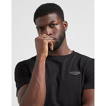 Nieuw Aanbod & Demand Men's Core Short Sleeve T-shirt Zwart