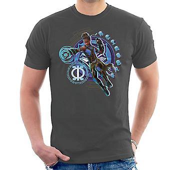 Bewundern Sie Black Panther Shuri Vibranium Gauntlet Zweck Symbol Herren T-Shirt