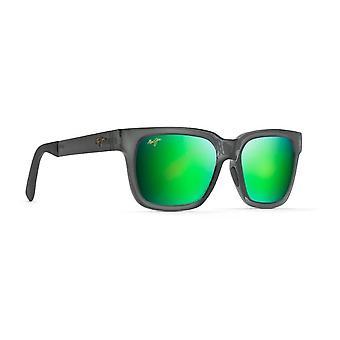 Maui Jim Mongoose GM540 11 Translucent Grey/Maui Green Sunglasses