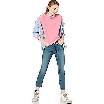 Marque - Goodthreads Women-apos;s Vintage Cotton Turtleneck T-Shirt, Rose , ...