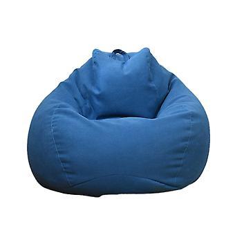 Cotton Lazy Couch Set Sofa Cover Blue 80 x 90 cm