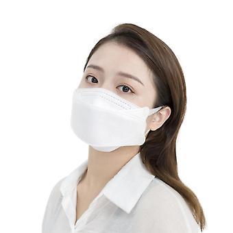 Komfortabel nese bar 4 lags beskyttende ansiktsmaske 10pcs