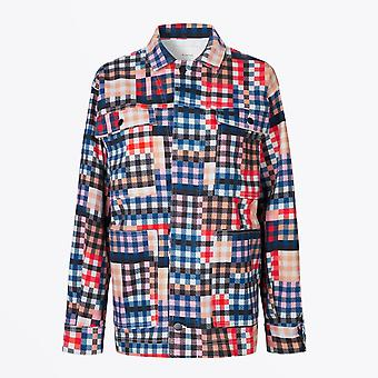 Munthe  - Locate - Checked Jacket - Multi