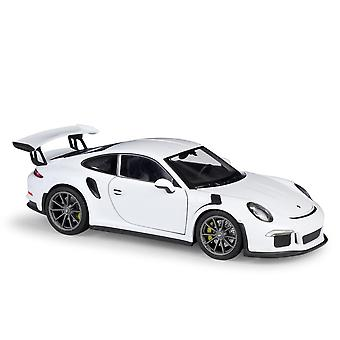 Sports car simulation alloy car model