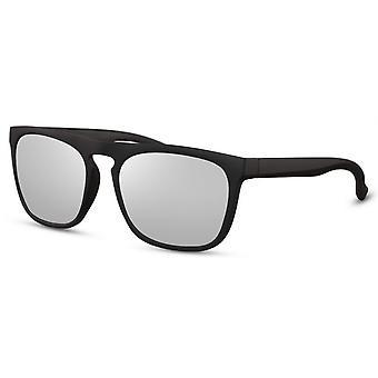 نظارات شمسية رجال الرجال المسافرين الأسود / الفضي (CWI2493)