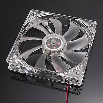 Computer Cooling Fan - Quad 4, Led Light With Quiet Mode
