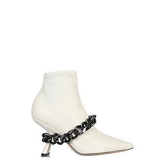 Nicholas Kirkwood 909b22nls1cru Femmes-apos;s Bottes en cuir blanc