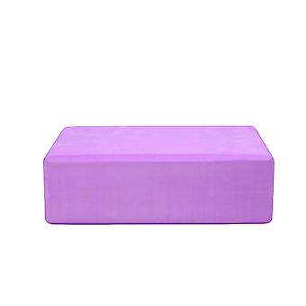 Ganvol Flat Footrest Support Brick 22x14x7.5cm, Lightweight 180g,Purple